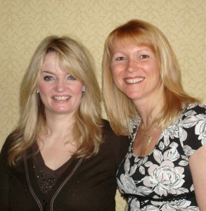 Tracey Wall and Dawn Breslin